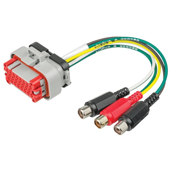 Pre-terminated connector - 3x RCA