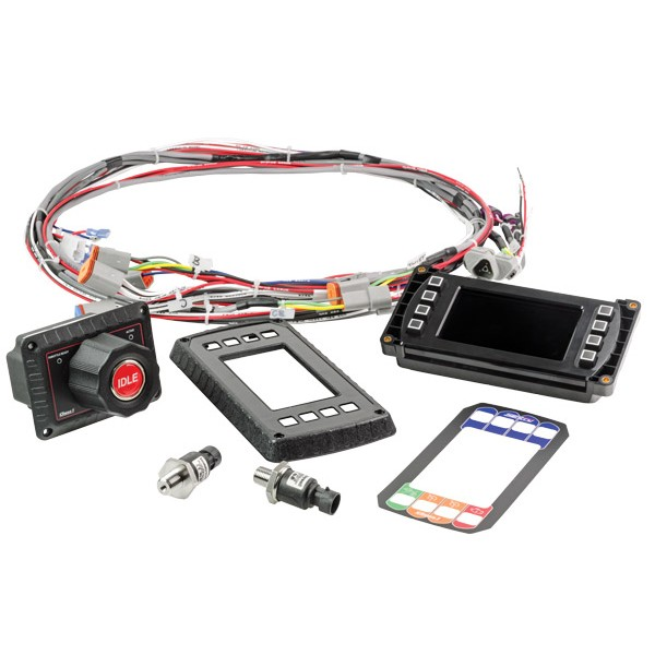 Kit includes Twister Throttle, harness & transducers