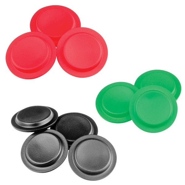 Coloured switch inserts - Can be laser etched